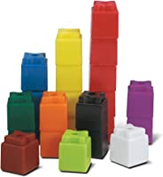 hand2mind 3/4-Inch Multi-Colored Linking UniLink Cubes (Set of 500)