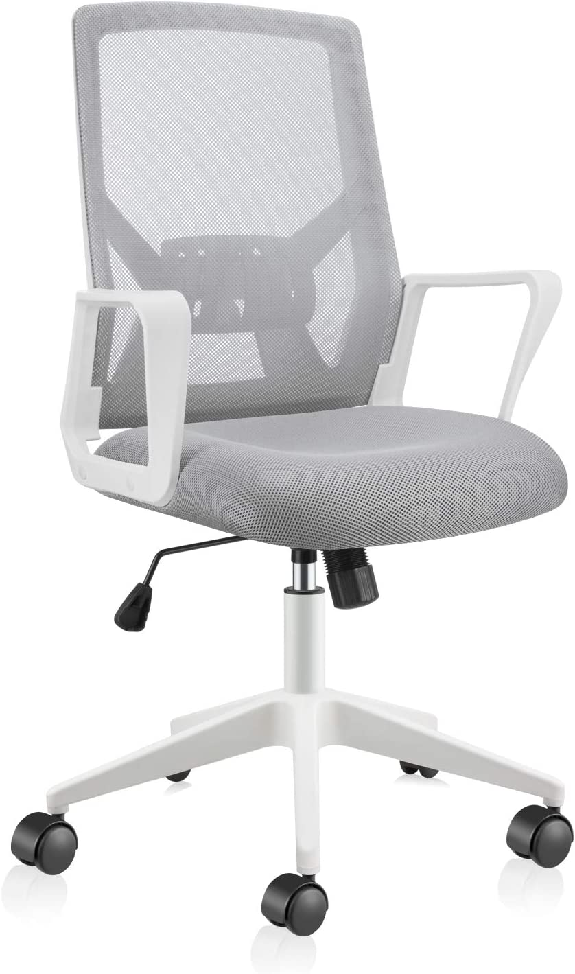 East Oak EO-HOC003 Ergonomic Home Office Chair, Grey