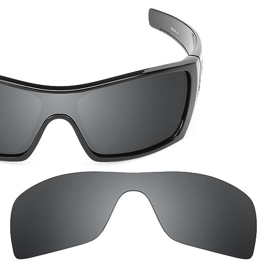 1ff1a818ef4c9 Revant Polarized Replacement Lenses for Oakley Batwolf Elite Black Chrome  MirrorShield