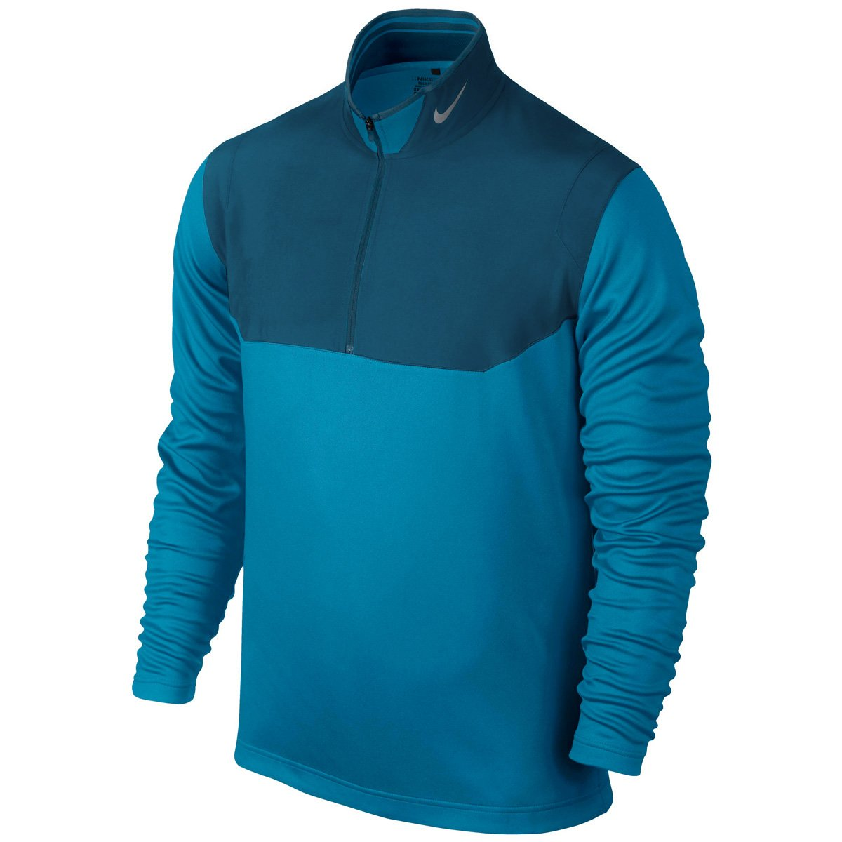- Light blue Laque M Nike Long-Sleeved Jersey 1 2 zip for Men Royal Deep bluee Deep Royal bluee Photo Wolf bluee