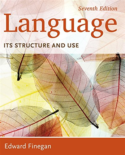 Language: Its Structure and Use by Cengage Learning