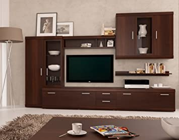 Amazoncom Imperial Entertainment Center Modern Wall Units