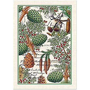 Michel Design Works Spruce Cotton Kitchen Towel, Green