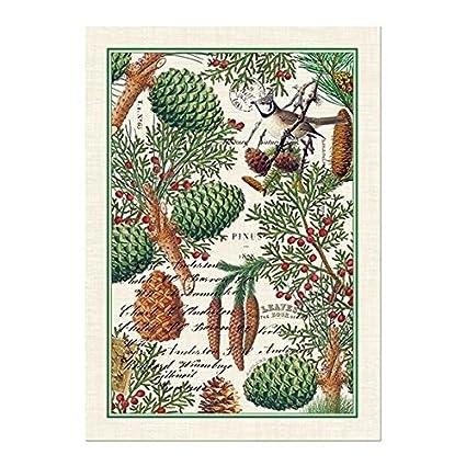 Michel Design Works Lemon Kitchen Towel, Natural Woven Cotton TOW8