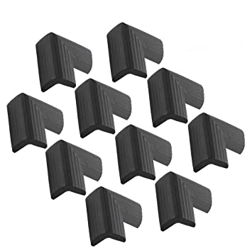 Corner Proofing for Baby Corner Bumpers for Furniture Baby Proofing Edge 12 Pack Soft Corner Protector Baby Safety Cushion Corner Guards Black Corner Cushion,Safety Table Edge Protector
