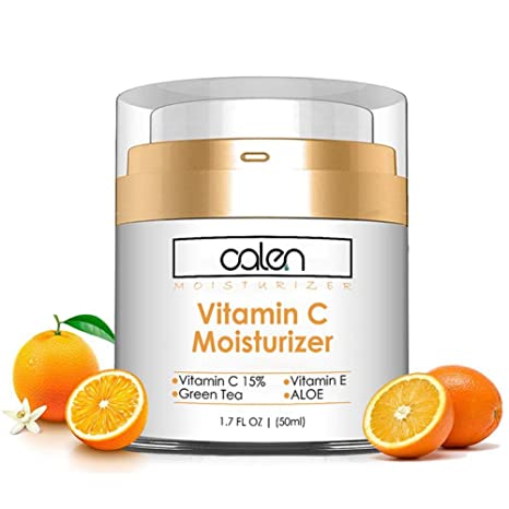 Crema hidratante anti oxidante para la cara Crema de vitamina C para aclarar el cutis Suavizar