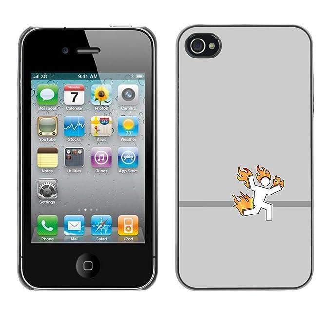 iPhone 4/4S, diseño de carcasa JackGot - colorida Carcasa ...
