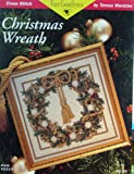 img - for Just Cross Stitch, Christmas Wreath book / textbook / text book