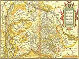 MAPS ANTIQUE VINTAGE GERMANY DUTCH BRABANT HOLY ROMAN EMPIRE ART PRINT MP5016A