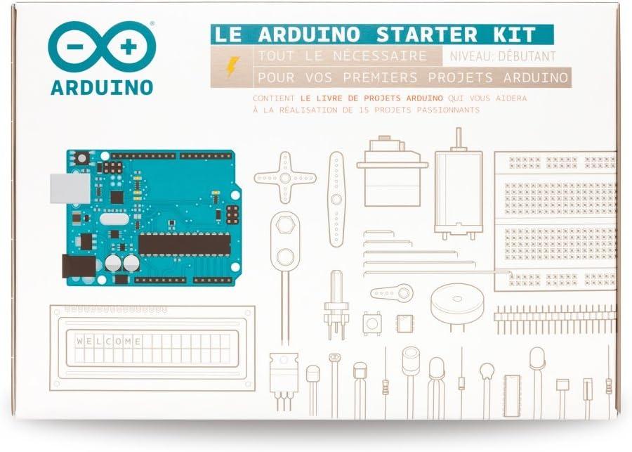 Arduino starter kit para principiantes K020007 [manual en francés]: Amazon.es: Electrónica