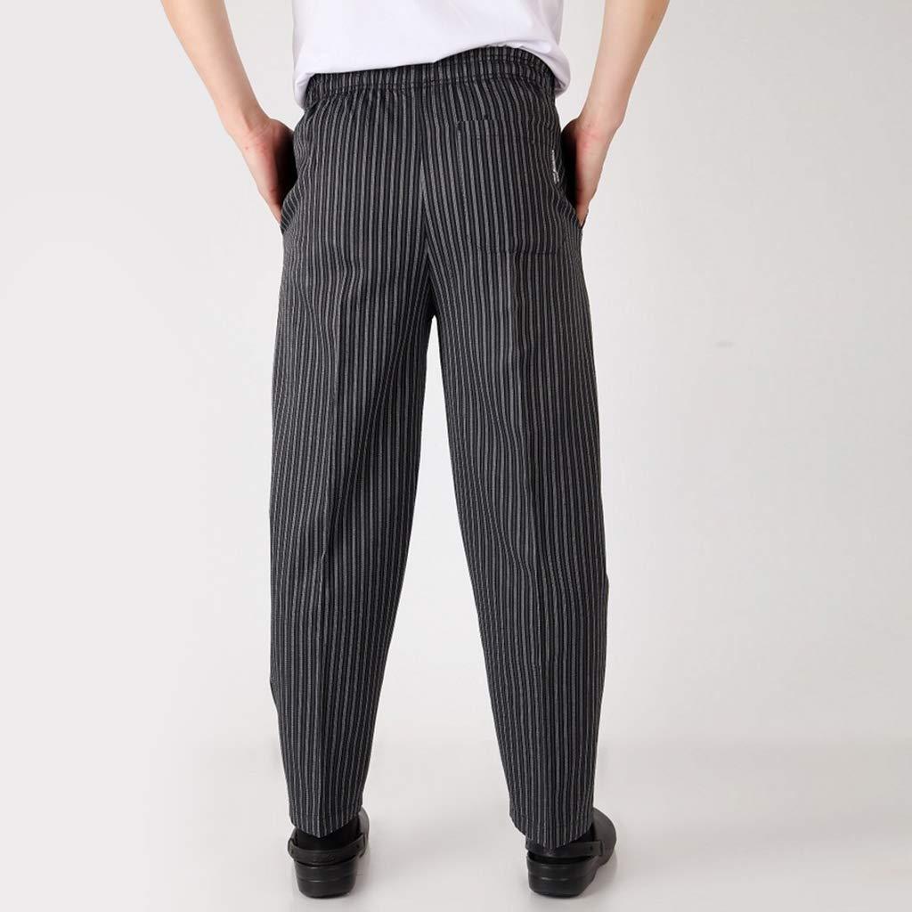 Hotel e Bar H HILABEE Pantalone da Cuoco//Abiti da Lavoro per Ristorante