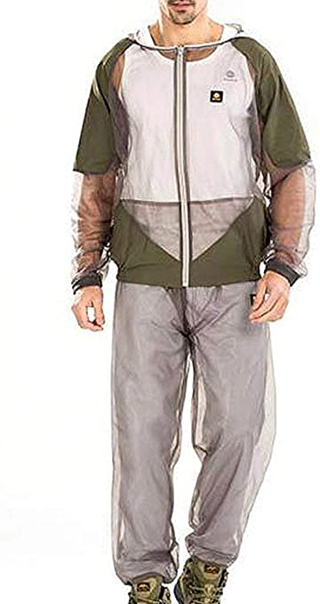 Aventik Mosquito Repellent Clothing Jacket Coat Light Weight Mesh Net One Size