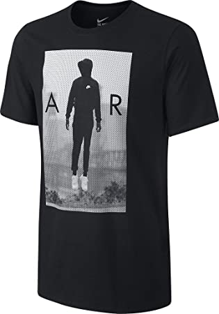 Nike Tee High On Air Mens T-Shirt, Men, black / black