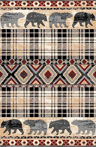 Furnish my Place 527MLT3x5 Area Rug