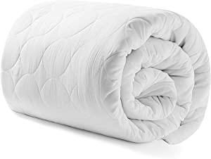 """Heated Mattress Pad King Water-Resistant Electric Mattress Pad Bed Topper Stretches up 8-21"""" Deep Pocket"""