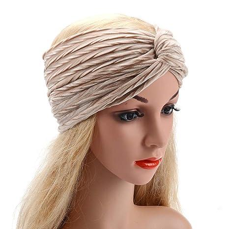 la Venda elástica de la Venda del Pelo Bandas para la Cabeza para Mujeres - Material