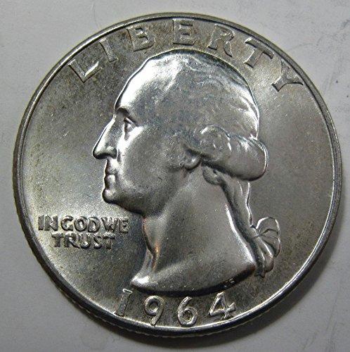 1964 silver Washington Quarter MS64
