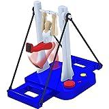【ノーブランド品】カラフル プラスチック製 水平バーの王子 ジャイアントスイング  体操機械  親子ゲーム ボードゲーム  体操マシン玩具  プレゼント
