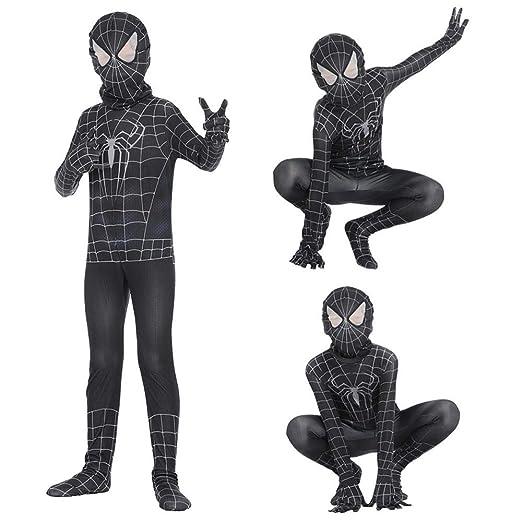 Spider-Man Traje De Halloween Mono Impresión 3D Spandex Lycra ...