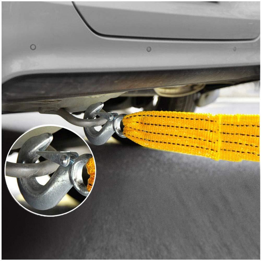 4 m con Ganci in Nylon Fly/&Hi Cavo di Traino per Auto 3 tonnellate Resistente