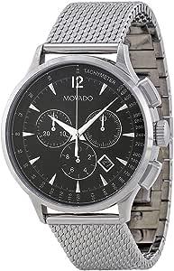 ساعة يد موفادو سيركا للرجال - انالوج مع سوار من الستانلس ستيل - 0606803