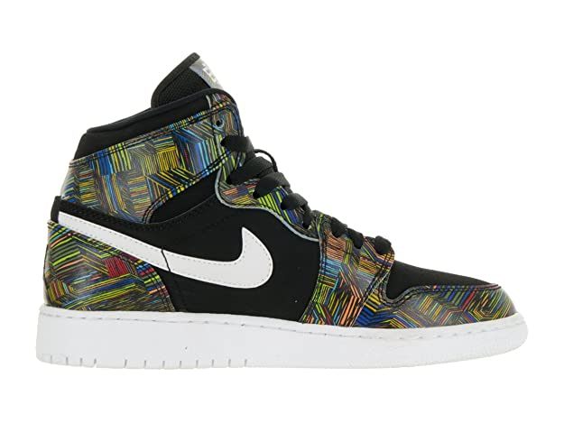 new arrival 11afe ed56b Nike Air Jordan 1 Retro High BHM GG Hi Top Trainers 739640 Sneakers Shoes   Amazon.co.uk  Shoes   Bags