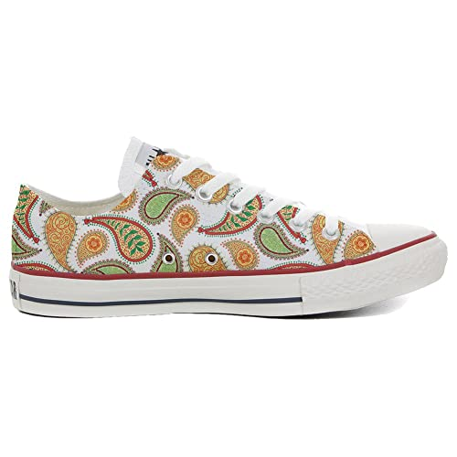 cce5df98cfec Converse Custom Printed Italian Style Quirky Paisley Size 46 EU ...