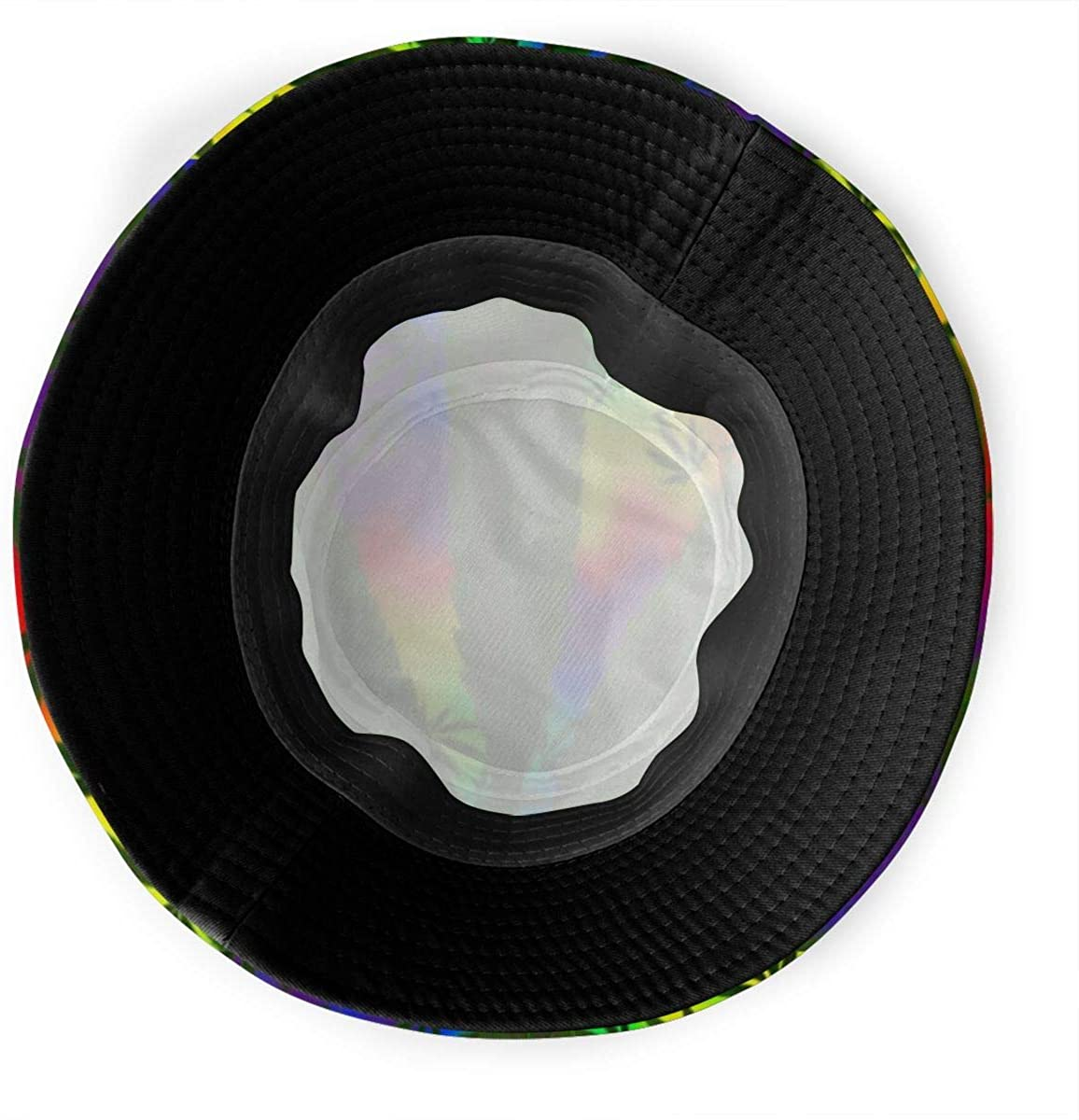 WKLNM Chapeau de p/êcheur Fashion Bucket Hat Unisex Breathable Bucket Hat Fishing Travel Sun Foldable Fisherman Cap Cannabis Leaf