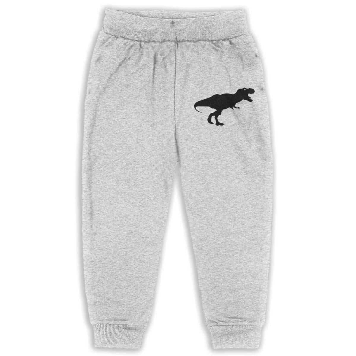 JOAPNWJ Smile Good Morning Children Cartoon Cotton Sweatpants Sport Jogger Elastic Pants