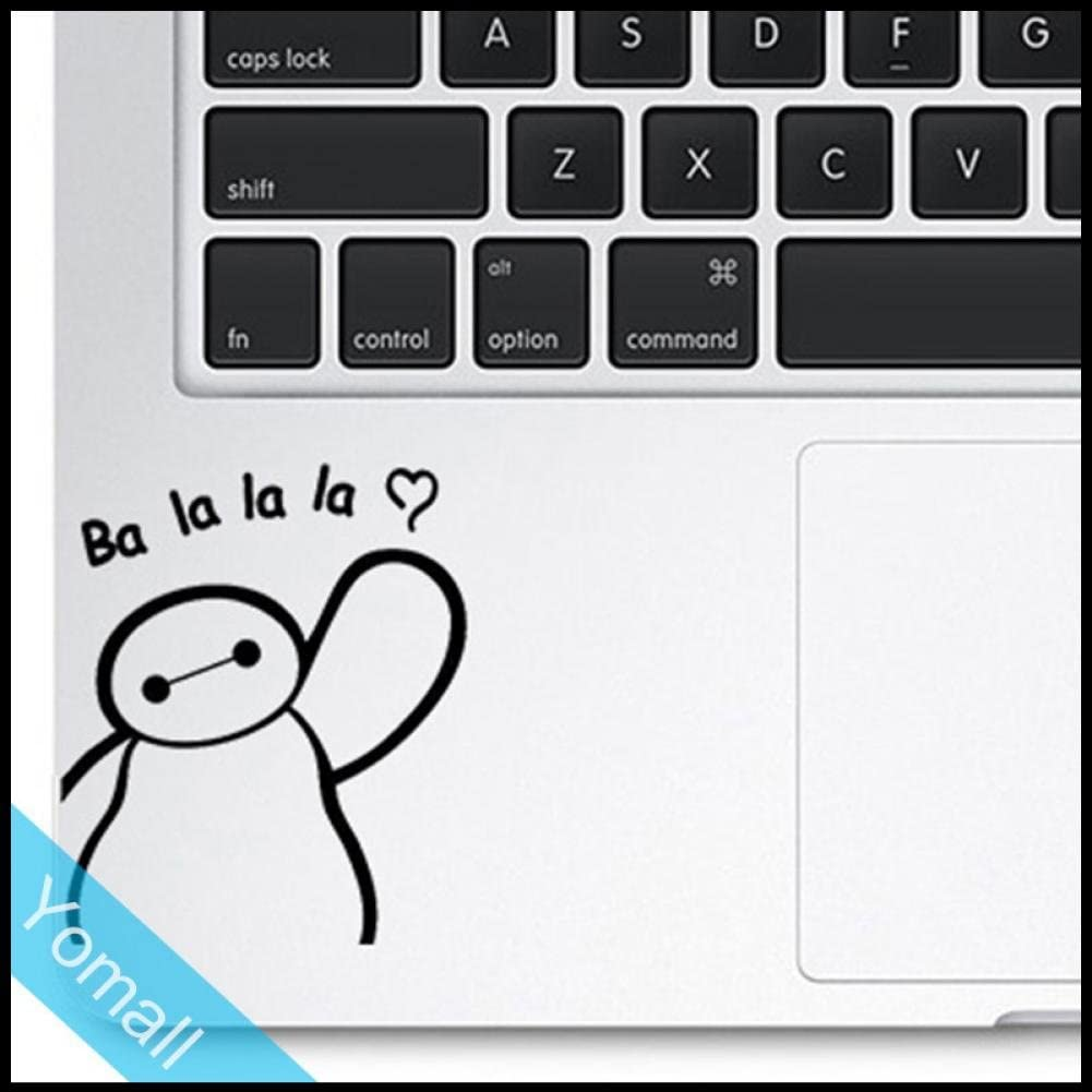 "Circle Love Computer Decals Baymax Balalala Funny Trackpad Decal Sticker Creative Laptop Sticker For Macbook Air Pro Retina 11"" 12"" 13"" 15"" Touchpad Decal"