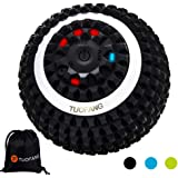 Electric Vibrating Massage Ball, 4-Speed High-Intensity Fitness Yoga Massage Roller, Relieving Muscle Tension Pain…
