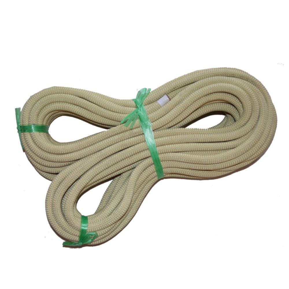Rockクライミングロープドロップロープ高温度耐性安全Aramidロープクライミングロープ 80m*10.5mm ベージュ 54621 80m*10.5mm ベージュ B07FC7RP4S