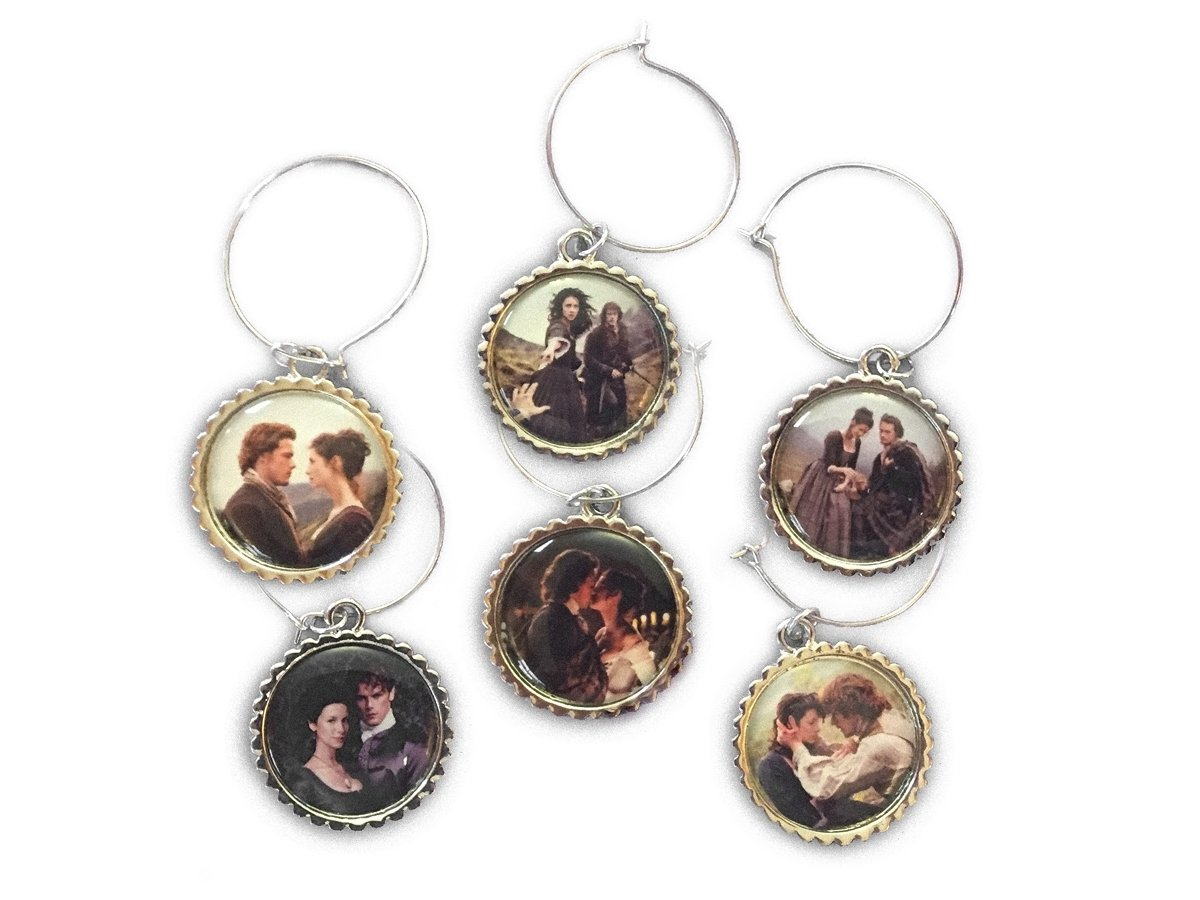 Outlander Love Wine Charms by Toy Vault