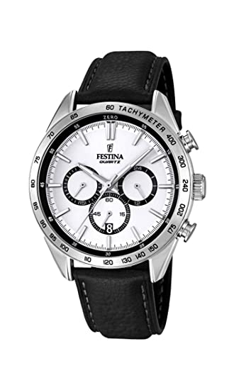 57ee8654ca Festina Timeless Chronograph F16844/1 Mens Chronograph very sporty:  Amazon.ca: Watches