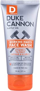 product image for Duke Cannon Working Man's Face Wash for Men, 2 ounce, Travel Size