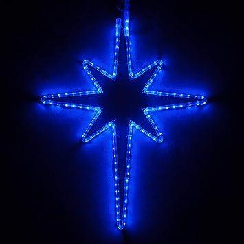 Wintergreen Lighting LED Star Lights Christmas Outdoor Christmas LED Star  Christmas Outdoor Decorations LED Rope Light - Amazon.com : Wintergreen Lighting LED Star Lights Christmas Outdoor