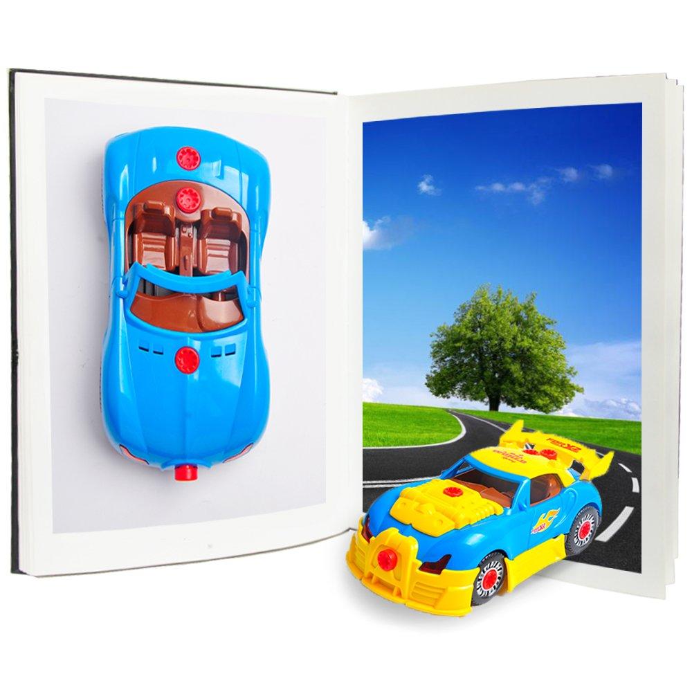 Montage Spielzeug Auto Baufahrzeuge Set Kinder DIY Spielzeug ...