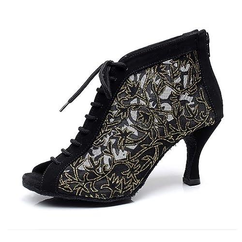 0e907b90 Syrads Zapatos de Baile Latino Mujer Salsa Bachata Kizomba Zapatos de Tango  Samba Vals Baile de Salón: Amazon.es: Zapatos y complementos