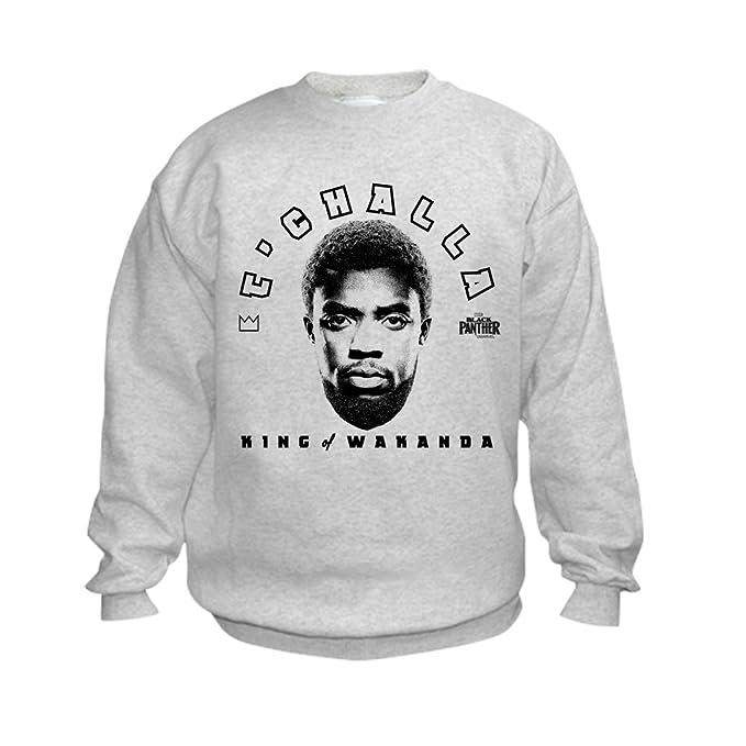 Amazon.com  CafePress Black Panther Wakanda King Kid Sweatshirt ... 9cae04d23