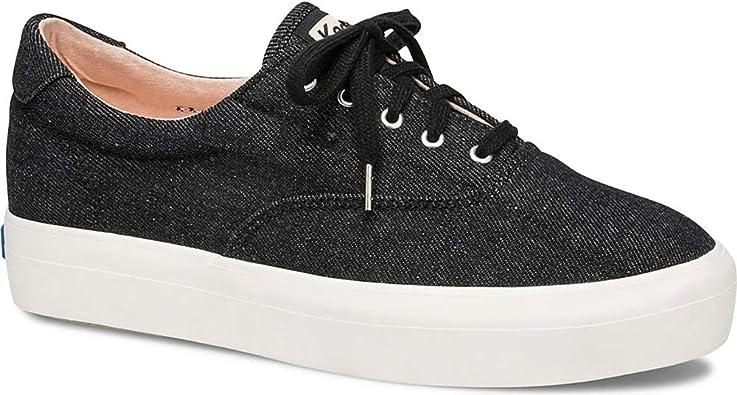 Rise Denim Ankle-High Fabric Sneaker