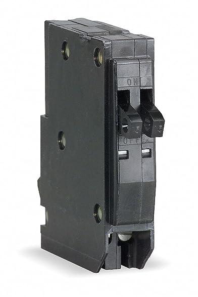 Square D QOT1520 Tandem Plug In Circuit Breaker 1P 15/20 Amp 120/240VAC