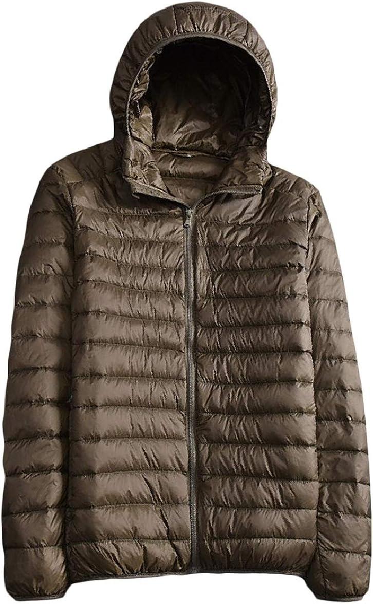 Unastar Mens Warm Regular-Fit Winter Thickened Oversized Jacket Coat