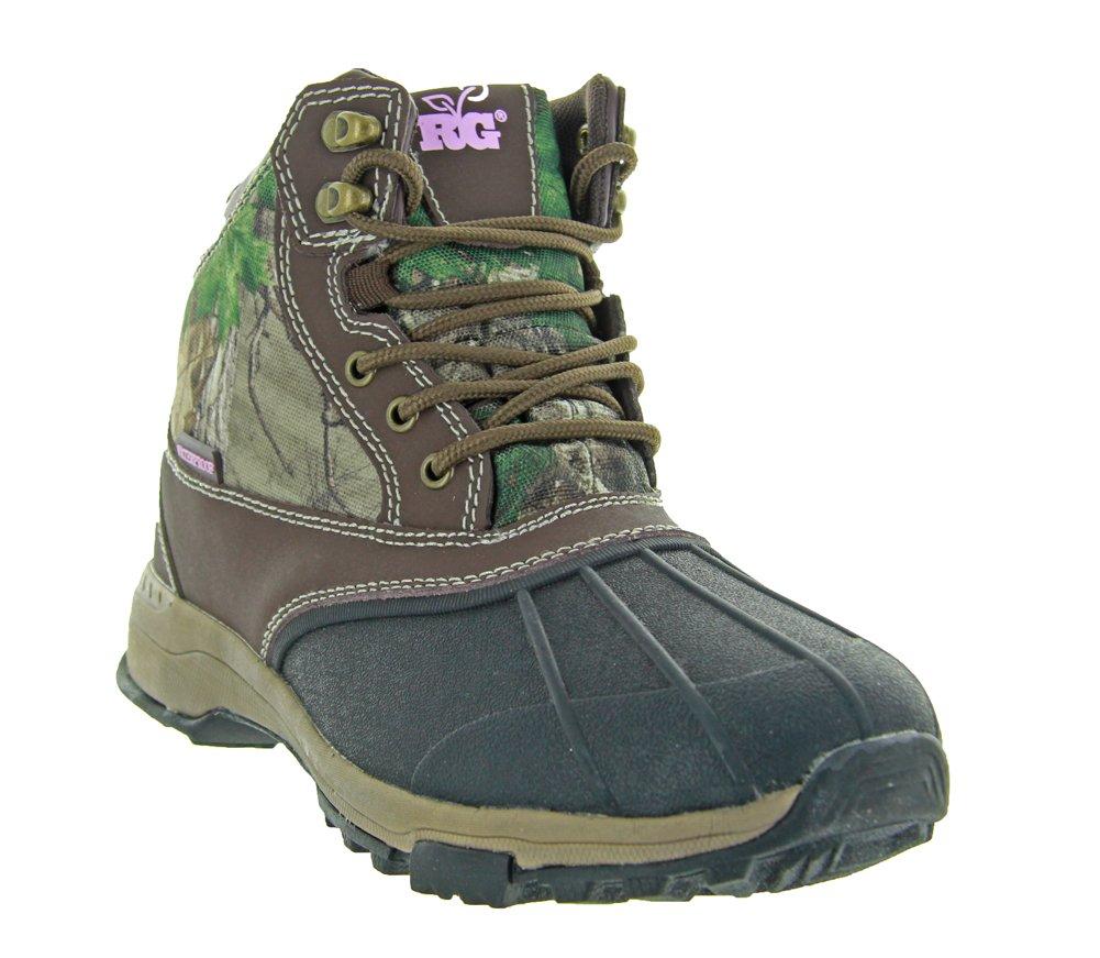 OLD DOMINION FOOTWEAR Realtree Girl Ms.Denver Boot (8 B(M) US, Dark Brown/Xtra)