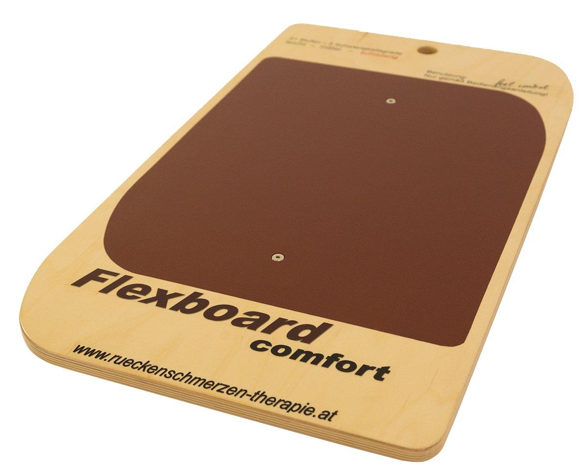 Flexboard Comfort Balancegerät, Rotbraun, 84 x 48 x 9 cm