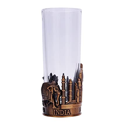 Amazon Com Vodka Shot Glass Gin Gift Cup Bar Accessories Indian