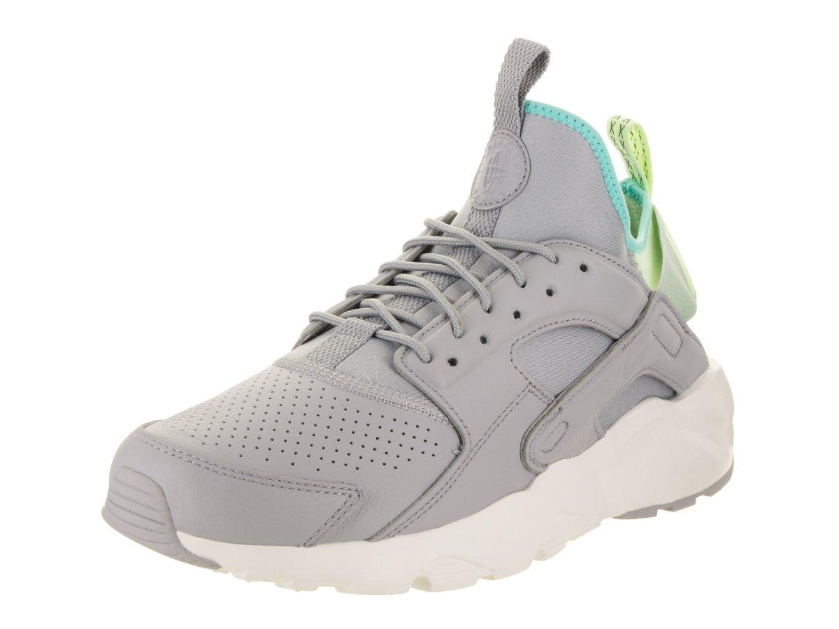 Nike Herren Air Huarache Run Ultra SE Leder Sneaker  41 EU D(M) |Wolf Grey/Wolf Grey