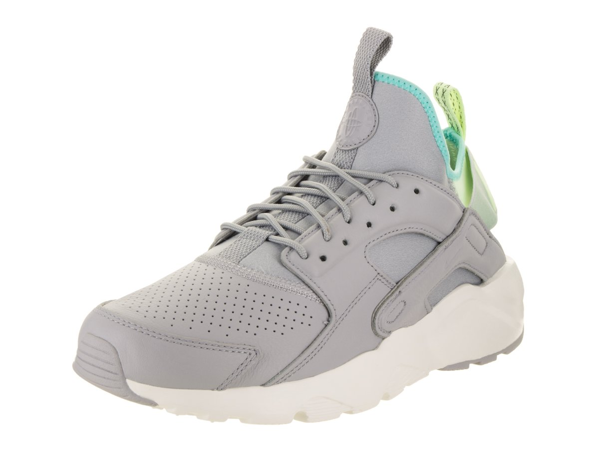 NIKE Mens Huarache Run Ultra Running Shoes B0749CSYNX 12 D(M) US|Wolf Grey/Wolf Grey
