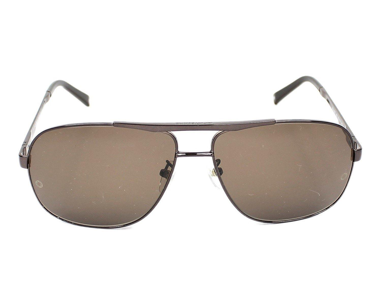 fdab8765d7657 Lunettes de soleil Mont Blanc MB 456 T 48E  Amazon.fr  Vêtements et  accessoires