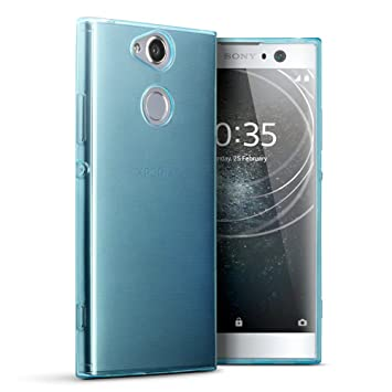 best cheap 49135 39641 TERRAPIN, Compatible with Sony Xperia XA2 Case, TPU Gel Cover - Blue