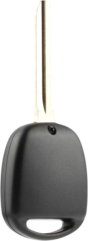 2008-2009 Toyota FJ Cruiser Key Fob Keyless Entry Remote Shell Case /& Pad fits 1998-2007 Toyota Land Cruiser HYQ1512V, 89070-60090 USARemote
